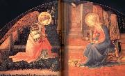 Fra Filippo Lippi Details of The Annunciation oil painting picture wholesale